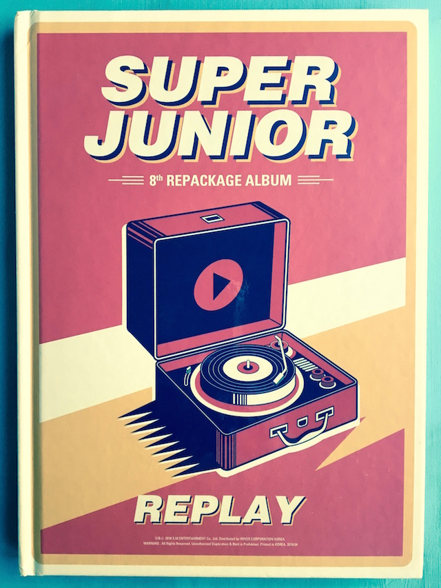 Super Junior 8th Album Cover