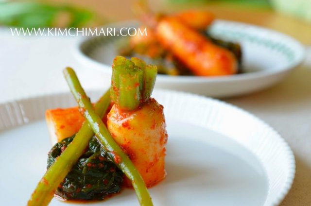 Easy Young Radish Kimchi