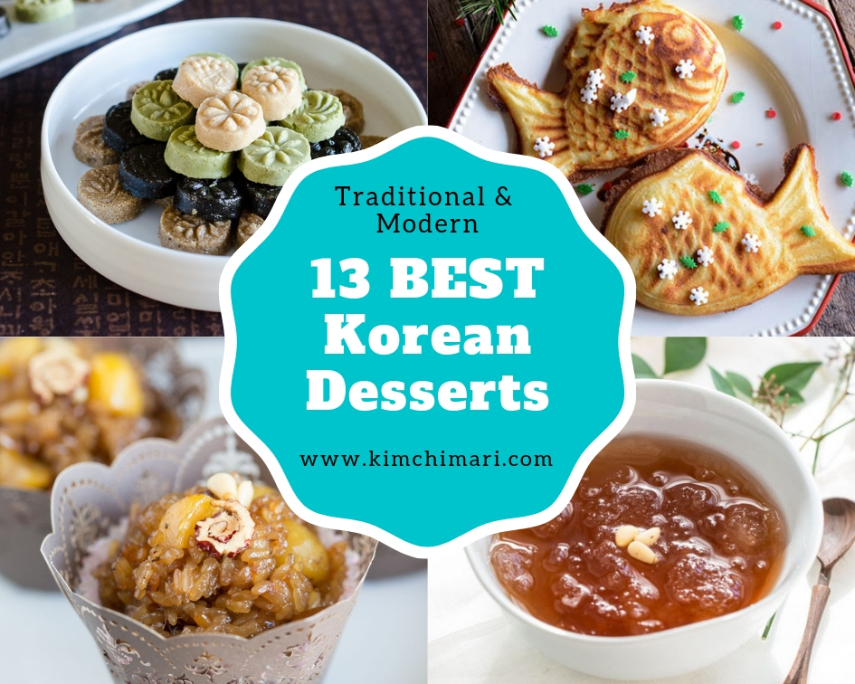 13 Best Korean Desserts Traditional And Modern Kimchimari