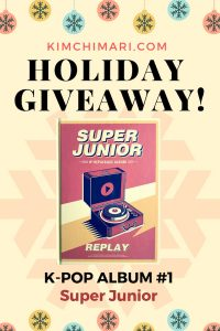 Super Junior 8th Album cover for Giveaway Kimchimari