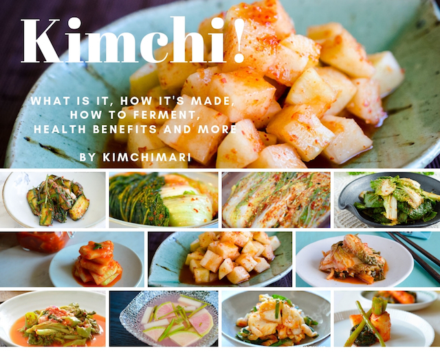 Kimchi guide - collage of different Kimchi pictures