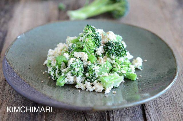 Broccoli Dubu Muchim