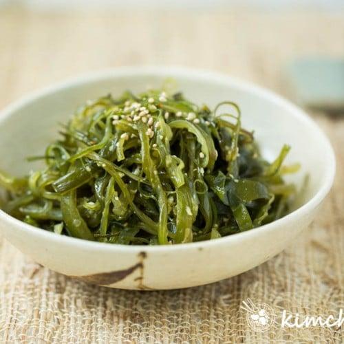 Seaweed Stem Side Dish - Miyeok Julgi Bokkeum
