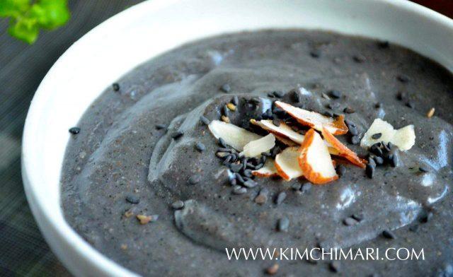 Black Sesame Porridge (Heukimja Juk)