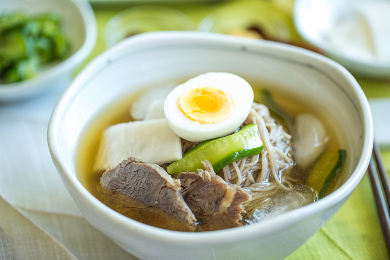 Mul Naengmyeon (Korean Cold Noodle Soup) – including bonus IP recipe