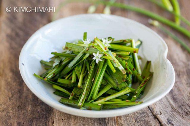 Chive Salad (Buchu Muchim)