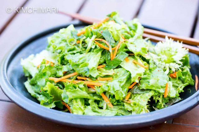 Green Onion Salad (Pa Muchim)