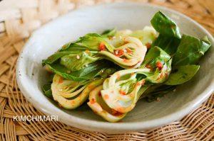Easy Spicy Baby Bok Choy Salad