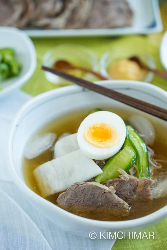 Cold Noodle Soup (Mul Naengmyeon)