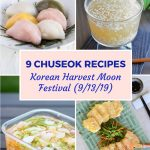 chuseok recipe pin