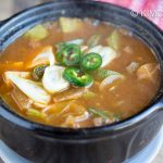 beef doenjang jjigae with kalbi broth