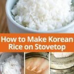 how to make korean rice pin